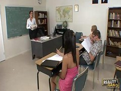 Sexy Teacher Fucked By Her Favourite Pupil