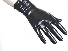 Wearing Tight Latex Pants And Gloves (latex Video 2.0)