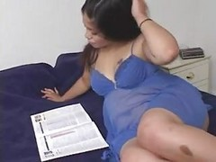 Pregnant Latina Rides A Hard One