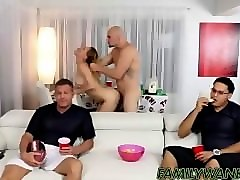 horny blonde slut gigi flamez rides her uncles long dick