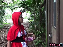 teen lil red riding hood